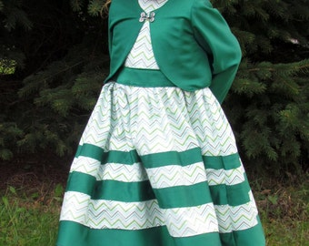 Nonie's Girl AVERAGE - Ellie Inspired Sleeveless Dress Bolero PDF pattern - sizes 4-12 Average Sizing