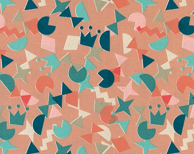 Shape Up in Peachy -Paper Cuts -Rashida Coleman-Hale for Cotton + Steel