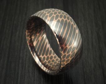 Superconductor Ring Custom Made Titanium-Niobium and Copper Band