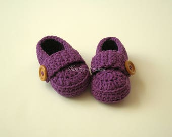 Crochet Baby Loafers/Baby Booties/Baby Loafers/Crochet/slippers/Cotton Loafers/Baby Shower gift/Crochet Baby Shoes/Crochet Baby Booties