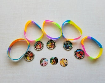 10 Pieces - Angry Birds  band bracelets party favors