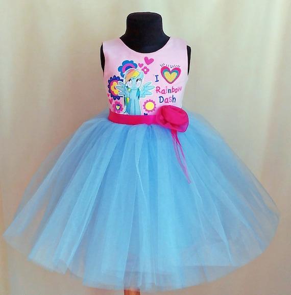 My Little Pony Dress My Little Pony Birthday Dress Rainbow