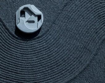 Chimera #2 : Micro Concrete Necklace / Brooch