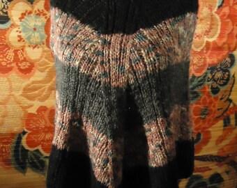 Vintage 1980s Sweater Poncho