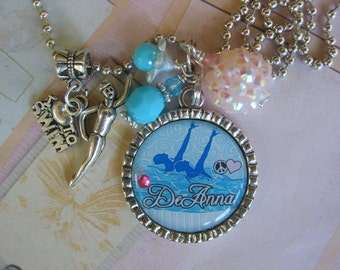 Personalized Synchronized Swimming necklace
