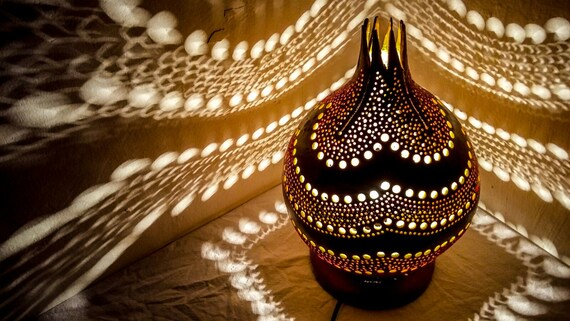 Amazing MOTHERu0027S Day EID Big Sales Gourd Lamp Unique Gift For