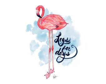 Stylish Flamingo