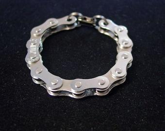 Bike Chain Bracelet - Stainless Steel