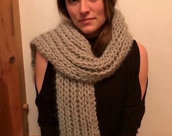 The Ribbed Scarf