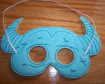 Blue Monster Mask