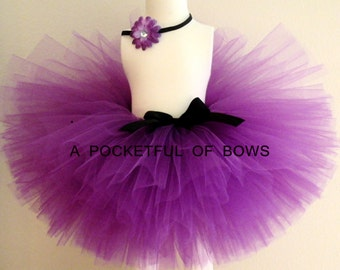 Purple Tutu Skirt, Birthday Purple Tutu, Toddler Tutus, Baby Tutu, Girls Tutu Skirt