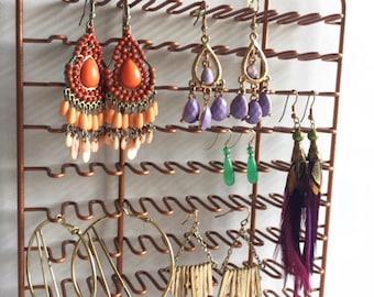 Vintage Copper Wire Rack