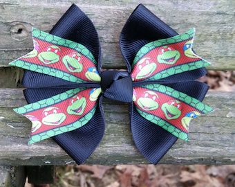 Ninja Turtles Hair Bow (4 inch)