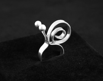 "OOAK Sterling Silver Ring ""Gary"" (MD111)"
