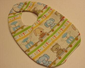 Little Animals baby bib (BR)