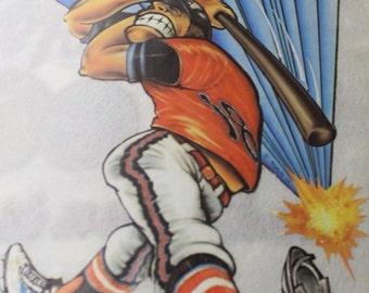 Baseball Player Heat Transfer