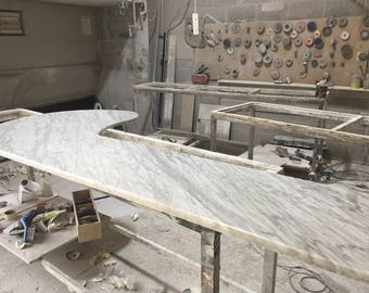 marble bar cut to size