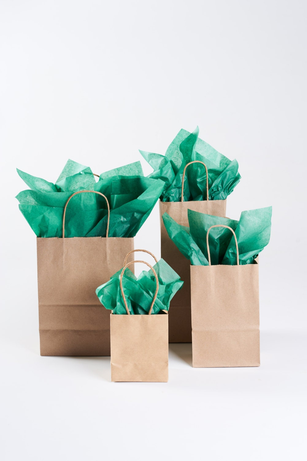 50 small kraft paper gift bags with handles mini gift bags in 4599 jeuxipadfo Choice Image
