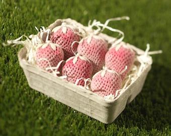 White Chocolate Strawberry Punnet