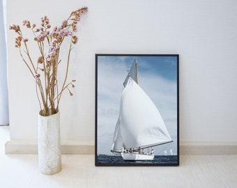 Sailers - Printable Photography - Sea - Digital Download - Ocean poster - Printable Decor - Nature Photography  #2NA