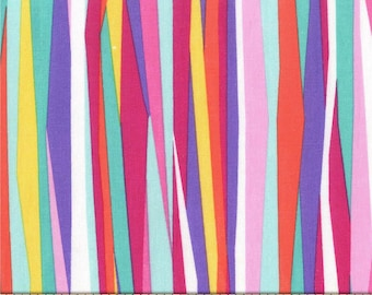 Tropical Current Stripes 100% Cotton from Michael Miller Fabric's Mer-Mates Collection