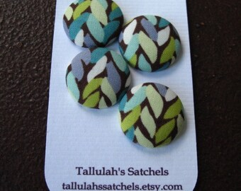 25% off SALEWearable Sew On Fabric Covered Buttons - Size 36 or  7/8 inches Weave