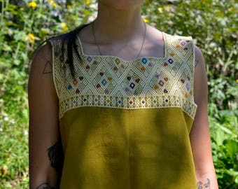 Hand Woven Shirt from Chiapas, Mexico