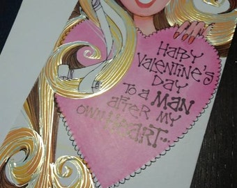 Sale - Valentines Day card