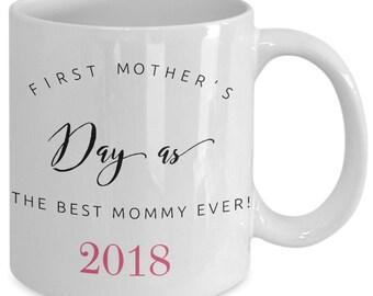 Heureux première fête des mères café-thé tasse 2017-2018 - souvenir de l'édition limitée pour la meilleure maman jamais une tasse de café