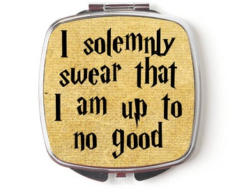 Harry Potter Compact Mirror - Harry Potter Gift - Compact Mirror