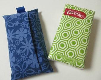 Tissue Case/Blue Flower