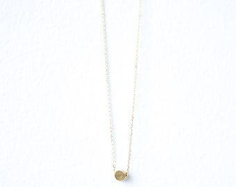 Dainty Dot Layering Necklace // Gold or Silver