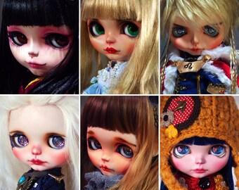 custom blythe doll custom service  by SiiS
