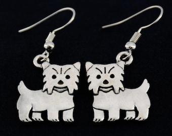 Yorkie Earrings, Yorkie Jewelry, Yorkie Owner Gift, Gift for Yorkie Owner, Gift for Yorkie Lover, Yorkie Owner Earrings, Yorkshire Terrier