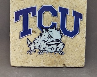 Texas Christian University Coasters (4-Pack)