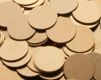 Bronze Disc - 14 Gauge, stamping blanks, metal blanks, Bopper, bronze round blanks, metal rounds, bronze disks, stamping discs, Bopper