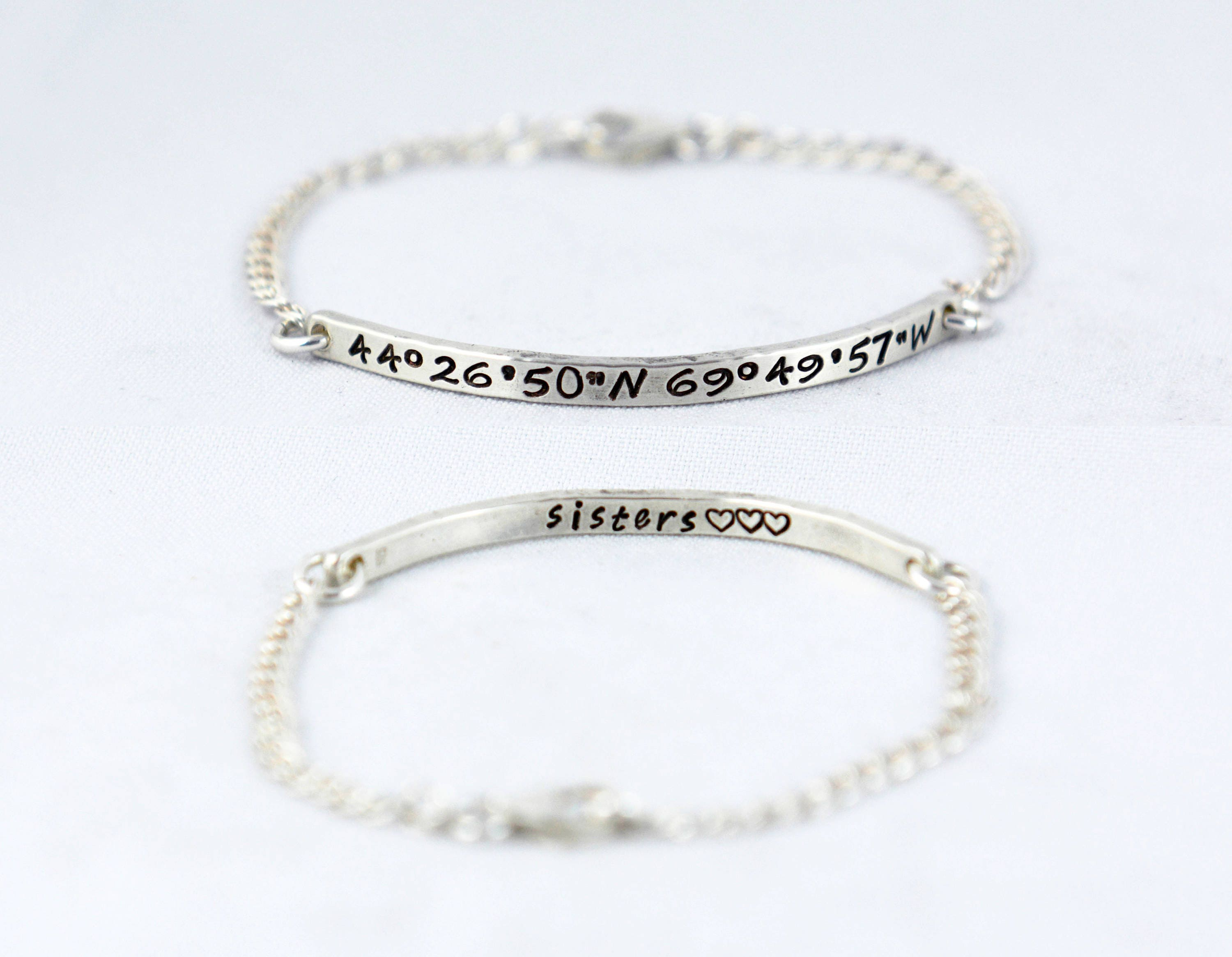 products spiffing img adjustable coordinates bracelet long lat
