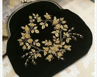 BG1 Handbag Black&Gold