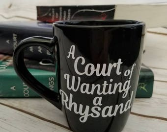 A Court of Wanting a Rhysand Mug, ACOMAF, acowar, Sarah j Maas, feyre, bookish, Bookish mug, Night Court, Rhysand, ACOTAR, Bookstagram, BF