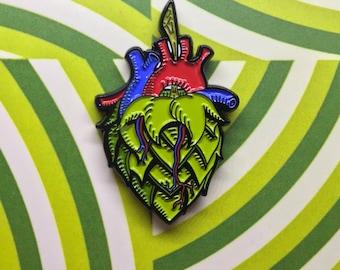 Hop Heart Beer Lover Pin