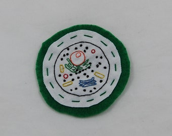 Animal Cell Embroidered Patch