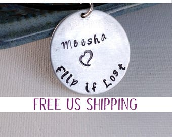 Child Safety Necklace, If lost please call, Handstamped, Family Vacation, Emergancy Contact, Safety ID, Lost Child, Theme Park Trip