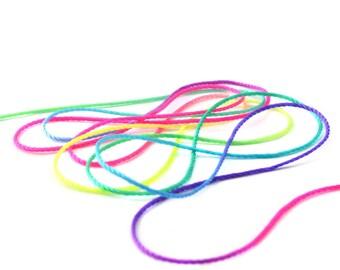1 M cotton multicolored 0.6 mm wire