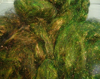 Forest Blaze Angelina  Spinning Fiber for Blending   1/2 oz  Heat Bondale