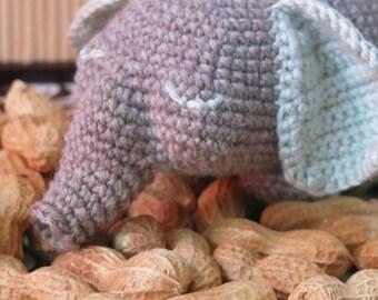 Darling Elephant crochet pattern PDF