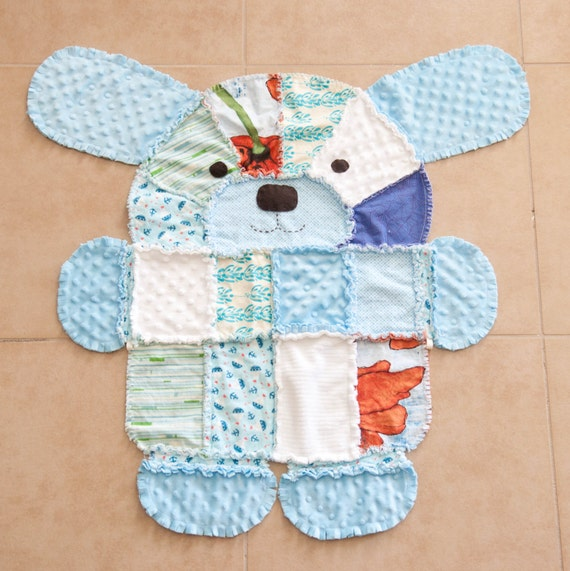 Pdf Pattern For Puppy Shaped Rag Quilt
