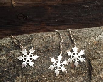 Sterling Silver Snowflakes