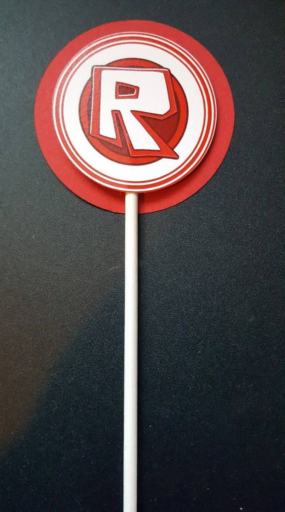 Roblox Party-12 cupcake toppers-Roblox girl-Roblox boy-Roblox party decor- Roblox cake toppers-Roblox birthday-Roblox