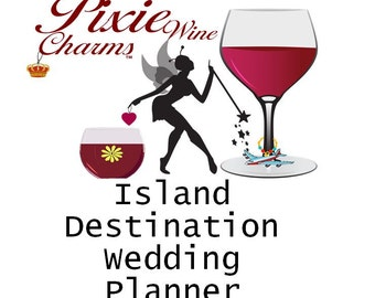 Destination Wedding planner, Wedding planner, Island Destination wedding planner, Digital Instant Download PDF, 26 Pages