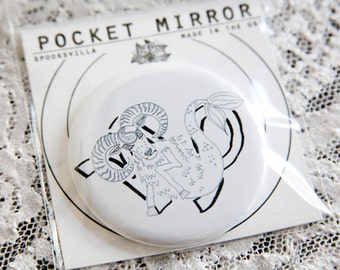 Astrology Pocket Mirrors: Capricorn